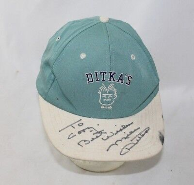 - Mike Ditka Signed Autographed Ditka's Hat Cap - Hand Signed Chicago Bears Sports