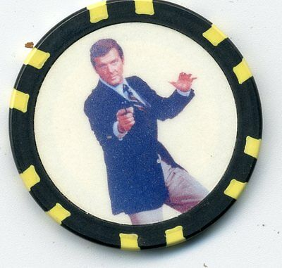007   Roger Moore  Collector Chip