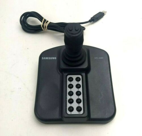 Samsung Security SPC-2000 Network Camera Keyboard Controller 3 Axis Joystick