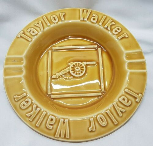 Vintage Taylor Walker Bitter Beer Ashtray Great Britain Burleigh Ware