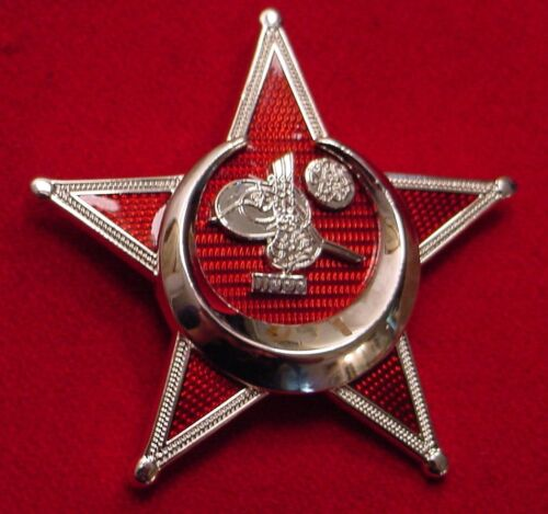 WWI OTTOMAN GALLIPOLI STAR / IRON CRESCENT / EISERNER HALBMOND MEDAL 1ST CLASS