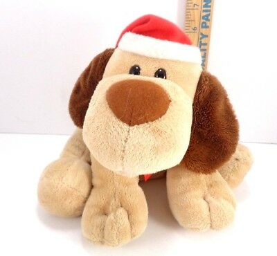 Hallmark Christmas Jingle Bell Puppy Dog Hat Scarf Barks Jingle Bell Song  ()
