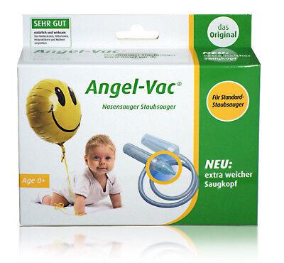 ANGEL-VAC® NASENSAUGER  für STANDARD Staubsauger Das Original!