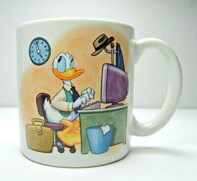 Disney Donald Duck Oversized  Mug The Clock Watcher Large Coffee Cup - Donald Duck Coffee Cup