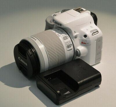 Canon EOS Rebel SL1 / EOS 100D 18.0MP Digital SLR Camera - White (Kit w/ EF-S...