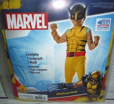 New Wolverine Halloween Costume Boys L - Wolverine Costume For Boys