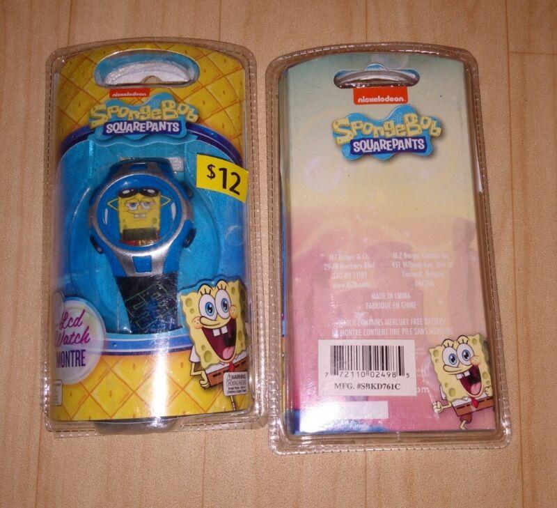 Nickelodeon SpongeBob SquarePants LCD Kids Watch