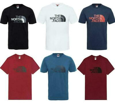 The North Face Big Logo Men's Short Sleeve Cotton T Shirt Small to Extra Large