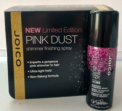 Joico Pink Dust 03 Shimmer Finishing Hair Spray 1.4 oz Limited Edition