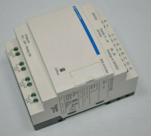 Schneider Zelio Compact Smart Relay Model# SR2 E121BD