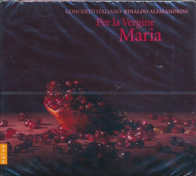Per la Vergine Maria CD NEW COncerto Italiano Rinaldo Alessandrini