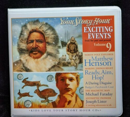 NEW Exciting Events Volume 9 Your Story Hour CD Audio Drama Set Matthew Henson