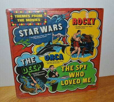 VINTAGE STAR WARS ROCKY JAMES BOND MOVIE THEMES SONGS VINYL RECORD ALBUM SEALED James Bond Movie Songs