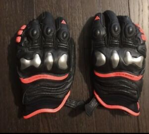 Dianese xstrike motorcycle gloves size large