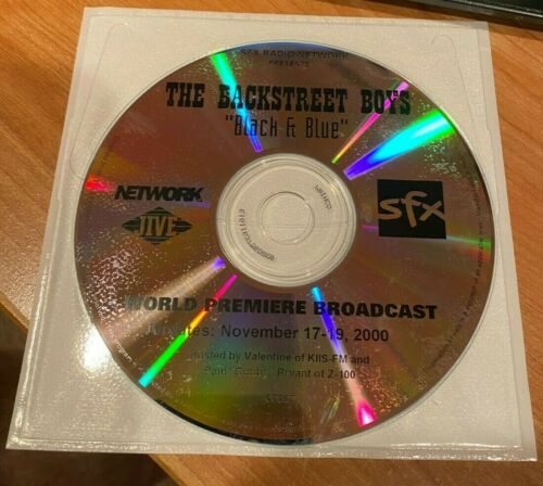 "Backstreet Boys Original World Premiere Broadcast Of ""Black & Blue"" 11/17/00 CD"