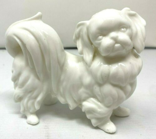 Dog ARDALT LENWILE Bone China Original Labels Porcelain Pekingese Figurine