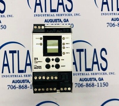 Moore Industries Programmable Relay Spahlprg4prgu A26