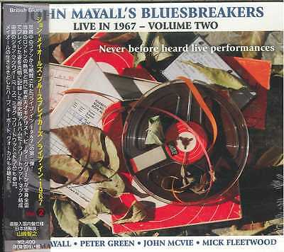 JOHN MAYALL'S BLUESBREAKERS-LIVE IN 1967 - VOLUME 2-Import CD w/JAPAN OBI (John Mayalls Bluesbreakers Live In 1967 Volume 2)