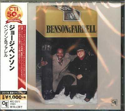 GEORGE BENSON-BENSON&FARRELL-JAPAN CD B63