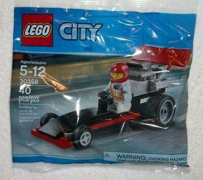 NISB CITY POLYBAG LEGO SET #30358 DRAGSTER