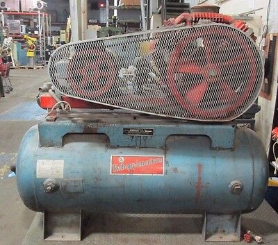 Kellogg American 15hp Two Stage Air Compressor 2663lr