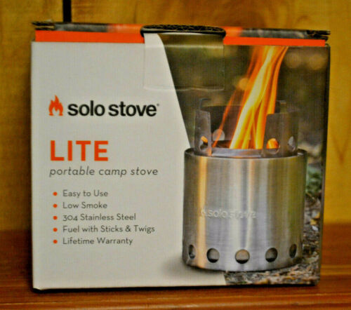 NEW - Solo Stove Lite Portable Camp Stove - Lightweight Compact Backpacking