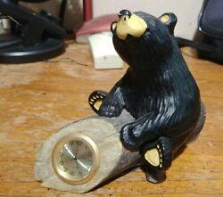"Big Sky Carvers Bearfoots Bears ""Clock"" By Jeff Fleming"