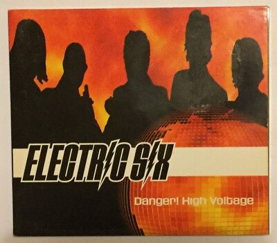Danger! High Voltage by Electric Six (2002, CD single, 3 tracks) Very Good