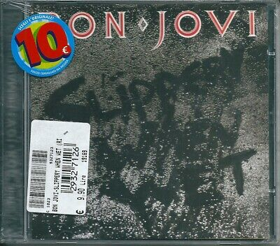 Jon Bon Jovi. Slippery When Wet (1986) CD NUOVO Wanted Dead Or Alive. Let It (Jon Bon Jovi Wanted Dead Or Alive)
