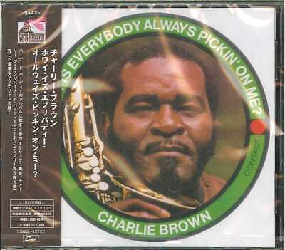 Charlie Brown Why Is Everybody Always Pickin On Me  Japan Cd Ltd Ed B63