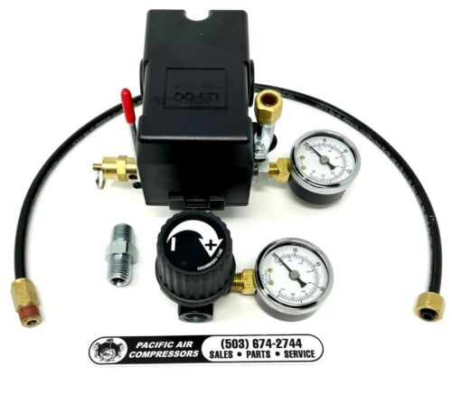 CW301300SJ REPLACEMENT PRESSURE SWITCH KIT AIR COMPRESSOR PART