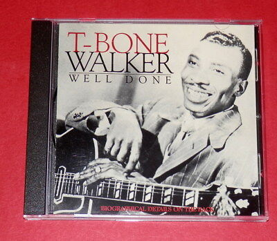 T-Bone Walker - Well done -- CD / Blues, gebraucht gebraucht kaufen  Altenmoor
