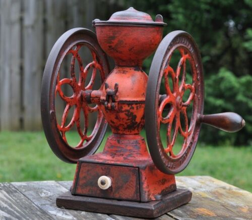 Antique Enterprise Coffee Grinder Mill