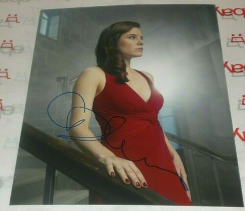 CAROLINE DHAVERNAS SIGNED HANNIBAL DR ALANA BLOOM PROMO 8X10 PHOTO AUTOGRAPH COA
