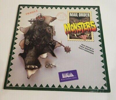 Atari Mail Order Monsters 8-bit 48k 400 800 XL 130 XE Computer Video Game Disk