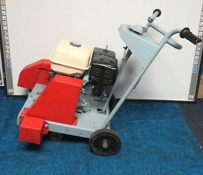 Concrete Saw Walk Behind Honda Gx200 18 W 16 Diamond Blade. Runs Good