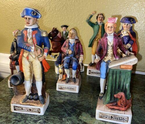 8 American Porcelain McCormick Distilling Company Decanters - Empty