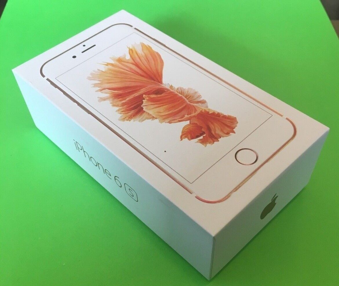 NEW Apple iPhone 6s - Plus - A1634 - 64GB - Rose Gold GSM Fa