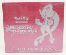 Pokemon TCG XY BreakThrough Mega-Y Mewtwo Elite Trainer Box NEW