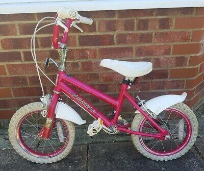 Ammaco 'Little Sweetheart' Pink 14in Girls' Bike
