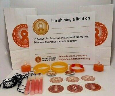 Shine a Light International Autoinflammatory Month Awareness Kit