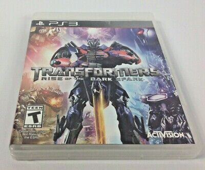 Transformers: Rise of the Dark Spark Sony Playstation 3 PS3 Game FREE