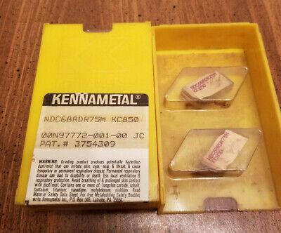Kennametal Carbide Insert Ndc68rdr75m Kc850