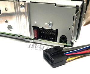 kenwood car stereo wiring harness ebay. Black Bedroom Furniture Sets. Home Design Ideas