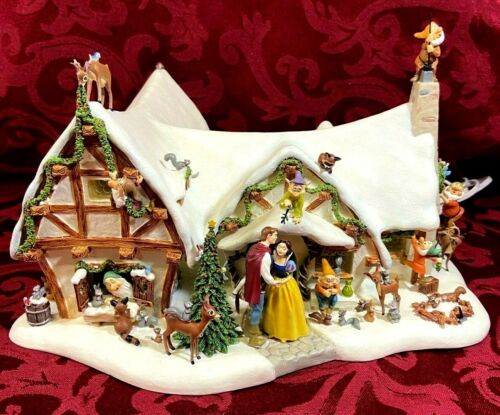 Snow White and the Seven Dwarves Cottage from Danbury Mint
