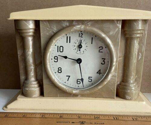 Antique Celluloid Cased Alarm Clock