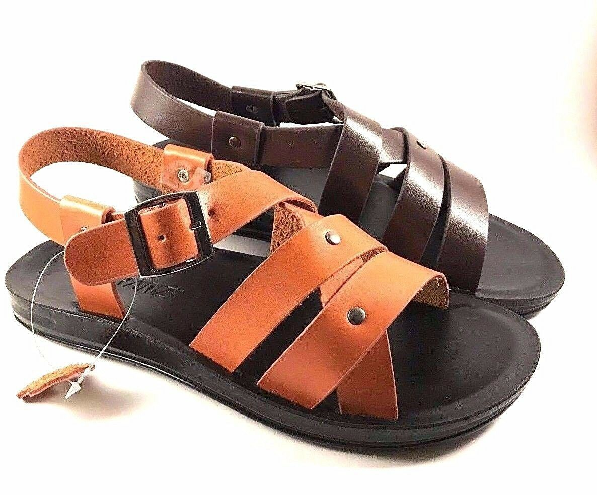 Faranzi FR81674 Leather Men's Sandals Choose Sz/Color