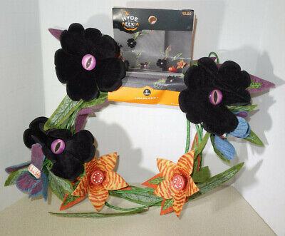 Creepy Felt Plants Flower Garland Halloween Eye Peeping,Teeth,Eyeballs Hyde Eek