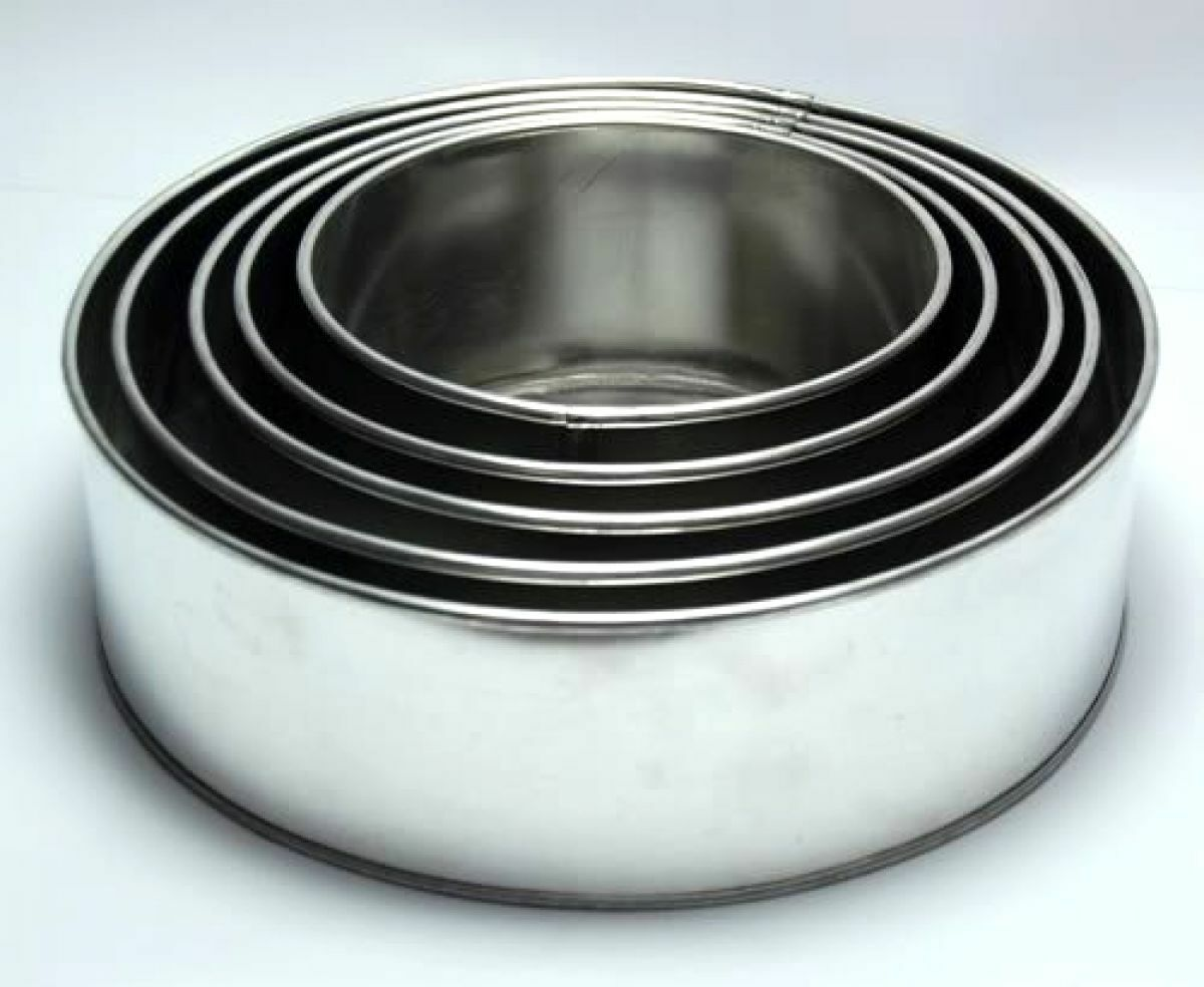 Set of 5 Tier Round Multilayer Cake Tins