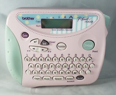 Pink Brother P-touch 1100sb Label Maker